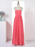 Lovely Bridesmaid Dresses,Long Bridesmaid Dress,Bridesmaid Dress with Straps,BD00207