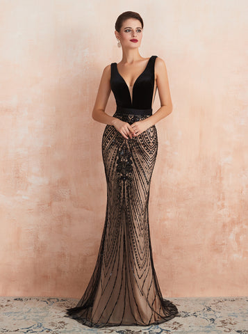 products/mermaid-black-formal-dress-gorgeous-v-neck-evening-dress-pd00457-1.jpg