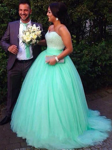 24ee759a1ce products mint-green-plus-size-prom-gowns-tulle-