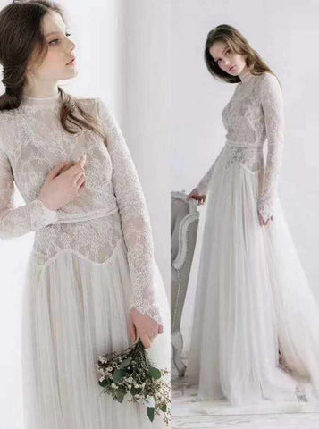 products/modest-high-neck-wedding-dress-long-sleeves-lace-and-tulle-wedding-dress-wd00509-3.jpg