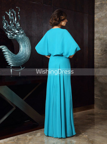 Mother of the Bride Dress with Jacket,Chiffon Mother of the Bride Dress,MD00046