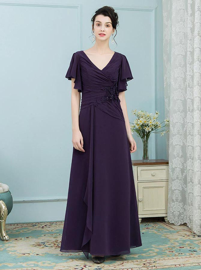 36abe6d4c95 Mother of the Bride Dresses with Sleeves