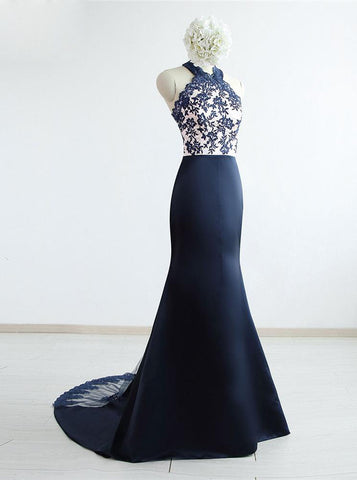 products/navy-blue-real-photos-mermaid-high-neck-lace-1.jpg