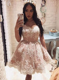 Off the Shoulder Homecoming Dresses,Lace Homecoming Dress,Homecoming Dress for Teens,HC00182