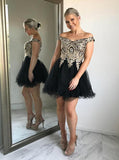 Off the Shoulder Sweet 16 Dresses,Black Sweet 16 Dress,Plus Size Sweet 16 Dress,SW00011