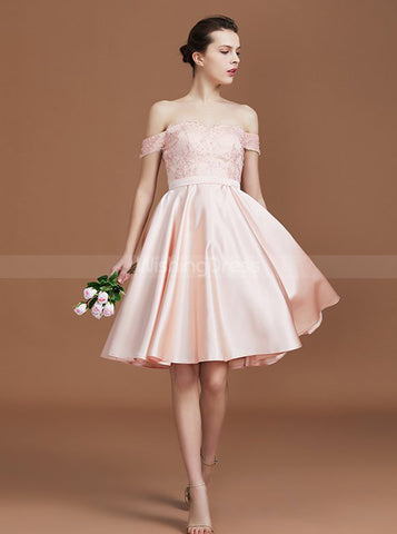 products/pink-bridesmaid-dresses-off-the-shoulder-bridesmaid-dress-short-bridesmaid-dress-bd00223-3.jpg
