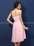 Pink Bridesmaid Dresses,Sweetheart Bridesmaid Dress,Bridesmaid Dress for Teens,BD00231