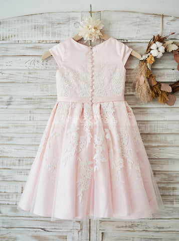 products/pink-flower-girl-dress-with-cap-sleeves-tea-length-girl-party-dress-fd00109-3.jpg