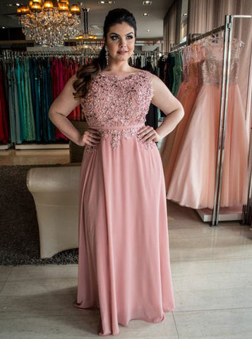 Long Plus Size Dresses