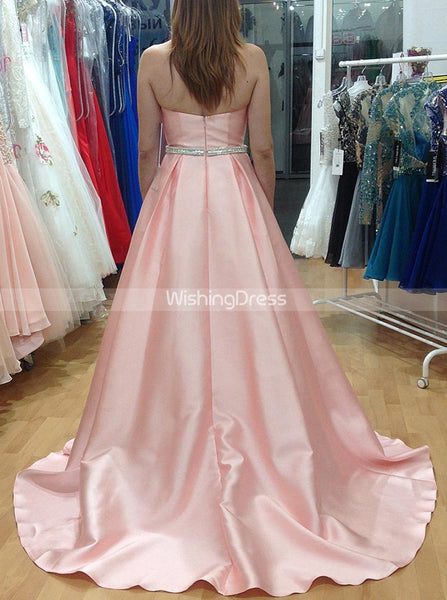 Pink Prom Dresses,Sweetheart Prom Dress,Long Princess Prom Dress,PD00272