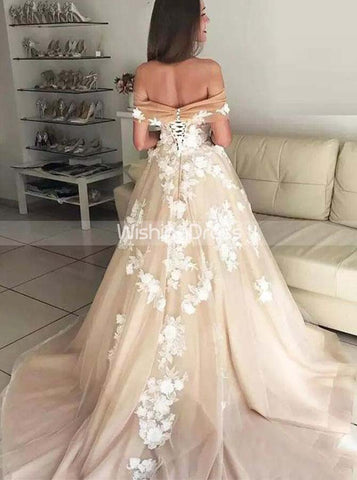 products/princess-wedding-dress-off-the-shoulder-floral-wedding-dress-romantic-wd00512-3.jpg