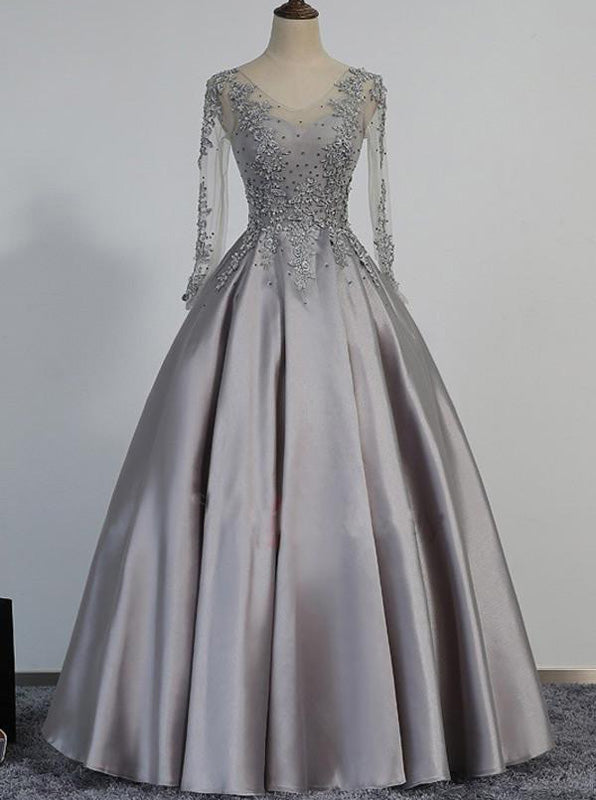fe211afa6bb Prom Dress with Long Sleeves