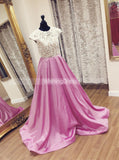 Prom Dresses for Teens,A-line Prom Dress,Prom Dress with Pockets,PD00277