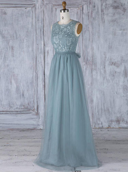 Fairytale Bridesmaid Dresses,Open Back Bridesmaid Dress,BD00344