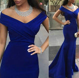 Royal Blue Evening Dresses,Elegant Prom Dress,PD00405
