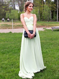Sage Prom Dresses,Graduation Dresses,Elegant Prom Dress for Teens,Sweetheart Prom Dress,PD00262