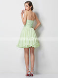 Sage Sweet 16 Dresses,Short Homecoming Dress,Chiffon Sweet 16 Dress,SW00037