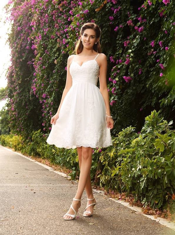 251e15234ff Short Wedding Dresses
