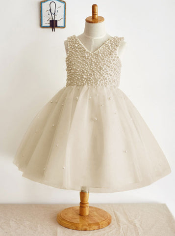 Cheap Flower Girl Dresses Of Ivory Lace White And Black Online