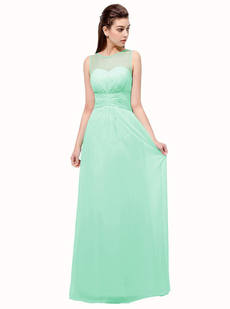 Simple Prom Dresses Long Bridesmaid Dress Wedding Guest Dress Prom Dress For Teens Pd00223