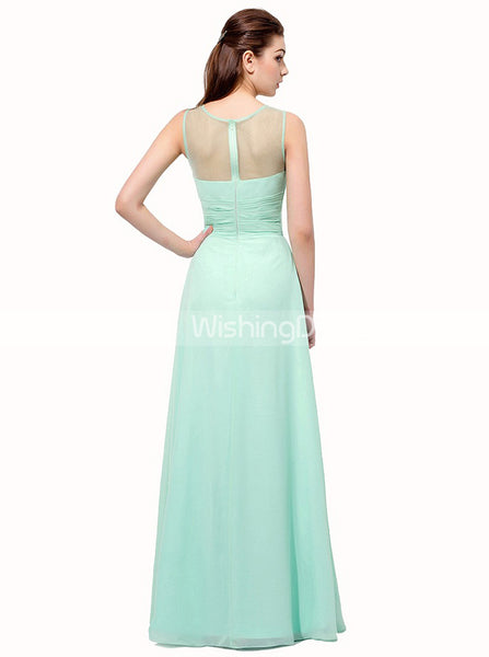 Simple Prom Dresses,Long Bridesmaid Dress,Wedding Guest Dress,Prom Dress for Teens,PD00223