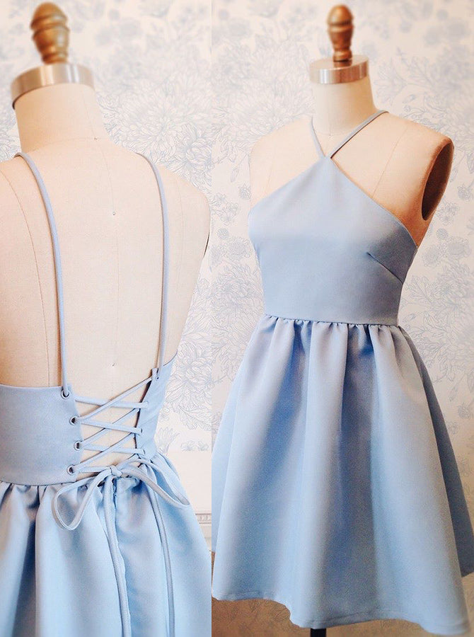 a36d139c4a6 Strappy Homecoming Dresses