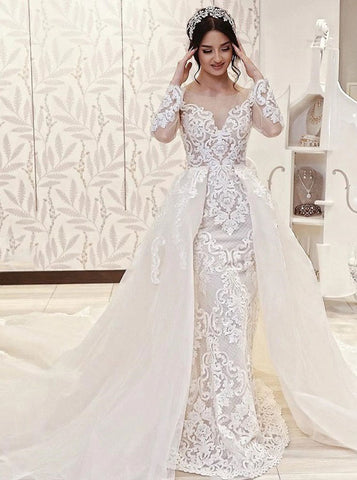 products/stylish-wedding-dress-with-long-sleeves-wedding-dress-with-detachable-overskirt-wd00638.jpg