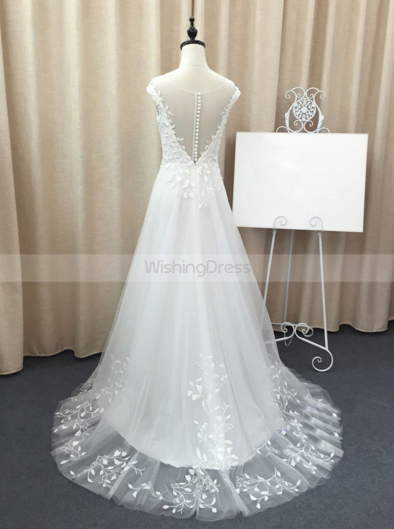 Tulle Wedding Dresses Beach Wedding Dress Fall Wedding Dress Spring Wedding Dress Wd00159