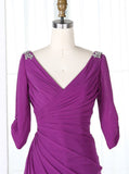 Vintage Bridesmaid Dresses,Bridesmaid Dress with Sleeves,Mother of the Bride Dress,BD00202
