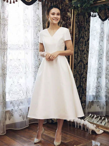 products/vintage-satin-wedding-dresses-tea-length-wedding-dress-with-short-sleeves-wd00438-5.jpg