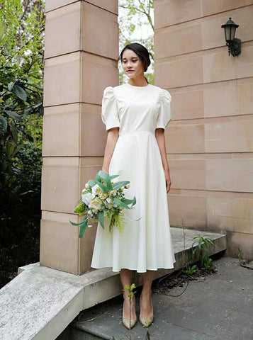 products/vintage-tea-length-wedding-dresses-high-neck-satin-wedding-dress-wd00442-4.jpg