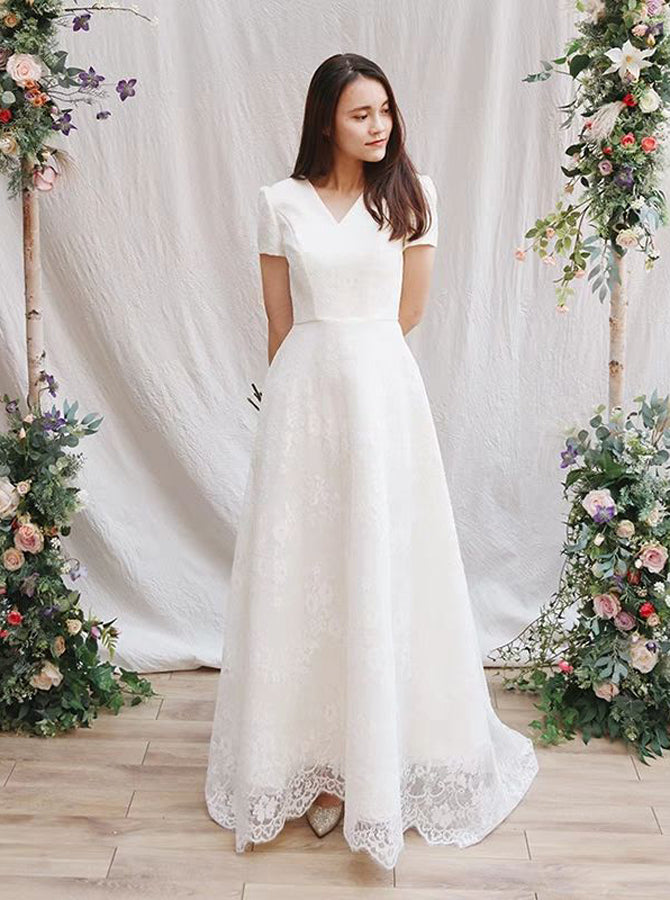 Lace Vintage Wedding Dress.Vintage Wedding Dress Lace Wedding Dresses Wedding Dress With Sleeves Rustic Wedding Dress Wd00207