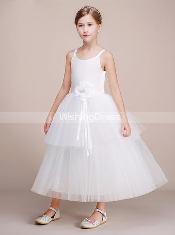 products white-ball-gown-junior-bridesmaid-dress-tulle- 4148aff5a379
