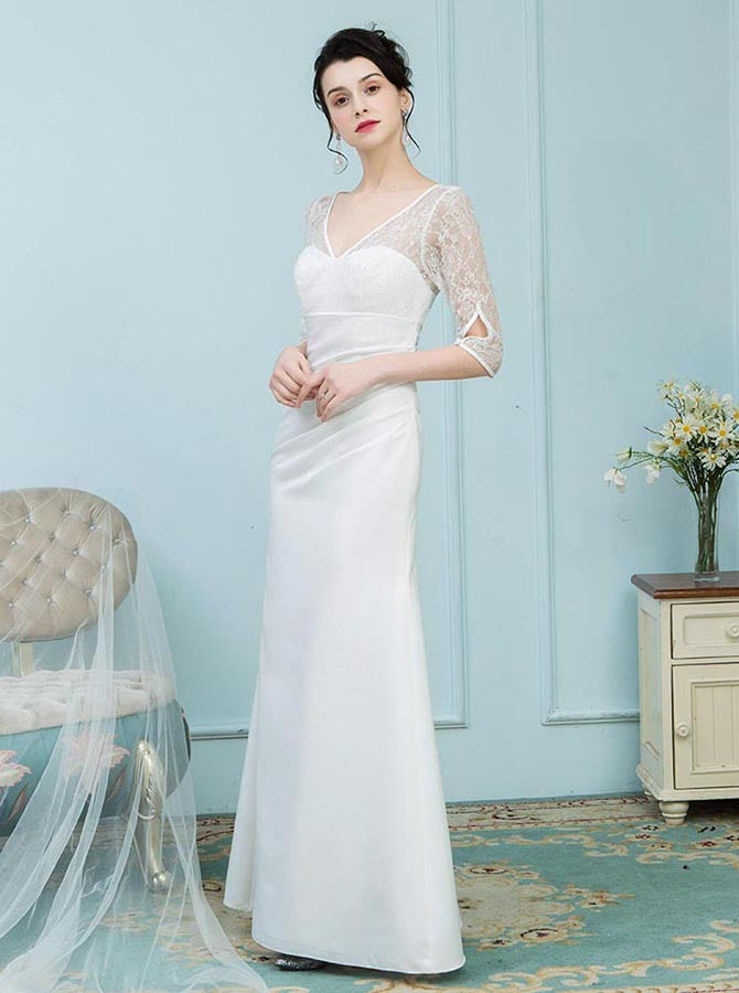White Mother of the Bride Dresses ff797c888a5c