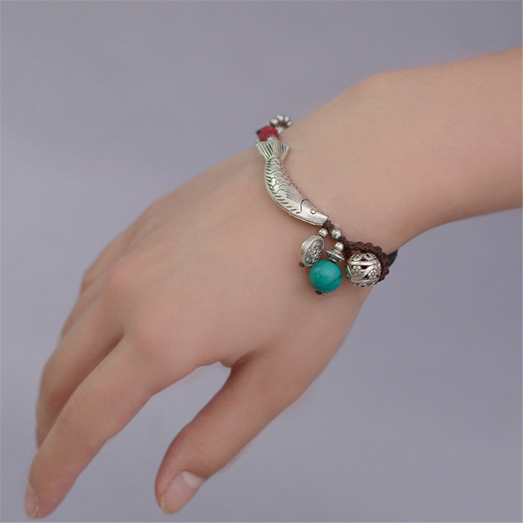 OneMe Lucky Fish Handcrafted Bracelet
