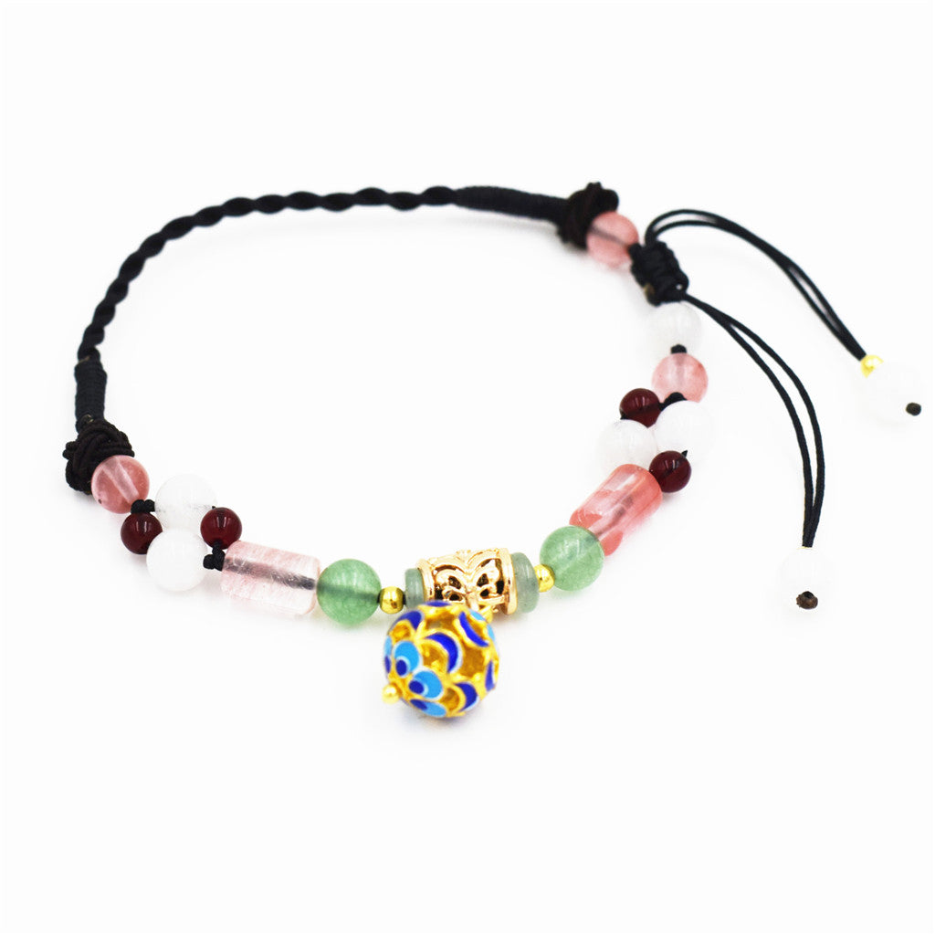 OneMe Peach Blossom Pretty Anklet