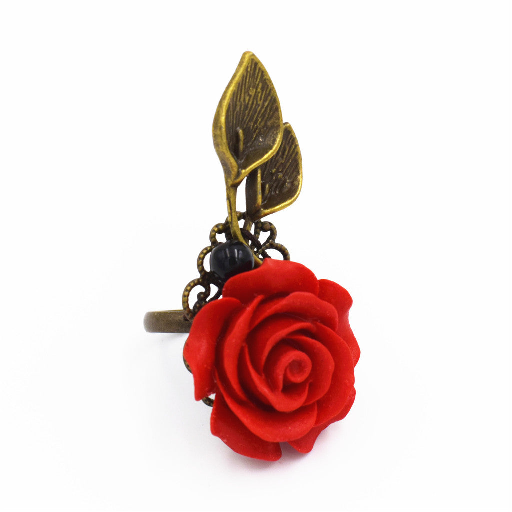 OneMe Rose Tears Vintage Ring