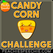 Load image into Gallery viewer, 100 Trials Candy Corn Challenge - Materials 100 Trials Candy Corn Challenge peachiespeechie.com