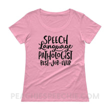 Load image into Gallery viewer, Womens Scoopneck Tee - CharityPink / XS - T-Shirts & Tops Womens Scoopneck Tee peachiespeechie.com