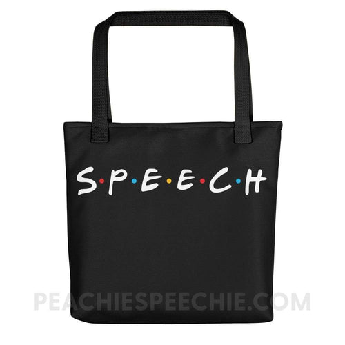 Tote Bag - Black - Bags Tote Bag peachiespeechie.com