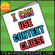 I Can Use Context Clues With Tier 2 Vocabulary