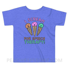 Load image into Gallery viewer, Toddler Tee - Heather Columbia Blue / 2T - Youth & Baby Toddler Tee peachiespeechie.com