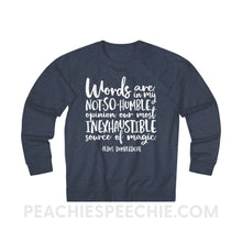Load image into Gallery viewer, Terry Sweatshirt | Magic Quote - XS / Denim Heather - Hoodies & Sweatshirts Terry Sweatshirt | Magic Quote peachiespeechie.com