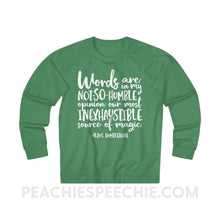 Load image into Gallery viewer, Terry Sweatshirt | Magic Quote - XS / Kelly Heather - Hoodies & Sweatshirts Terry Sweatshirt | Magic Quote peachiespeechie.com
