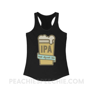 Not Just Beer Superfly Racerback - Solid Black / L - Tank Top Not Just Beer Superfly Racerback peachiespeechie.com
