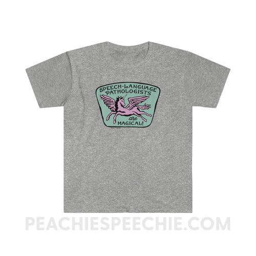 Speech-Language Pathologists Are Magical Classic Tee - L / Sport Grey - T-Shirt Speech-Language Pathologists Are Magical Classic Tee