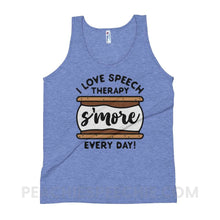 Load image into Gallery viewer, Tri-Blend Tank - Athletic Blue / XS - Tank Tops Tri-Blend Tank peachiespeechie.com