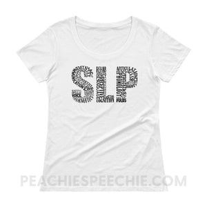 Womens Scoopneck Tee - White / XS - T-Shirts & Tops Womens Scoopneck Tee peachiespeechie.com