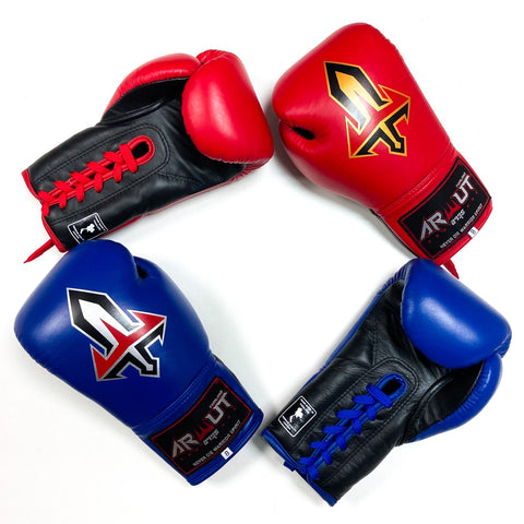 Arwut Lace Up Boxing Gloves BG3