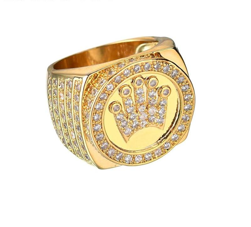 TR3ND X 18K CROWN RING